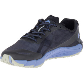 Merrell W's Bare Access Flex Shoes Black/Metalelic Lilac